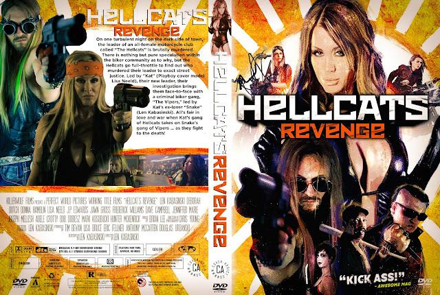 Hellcat's Revenge DVD Cover