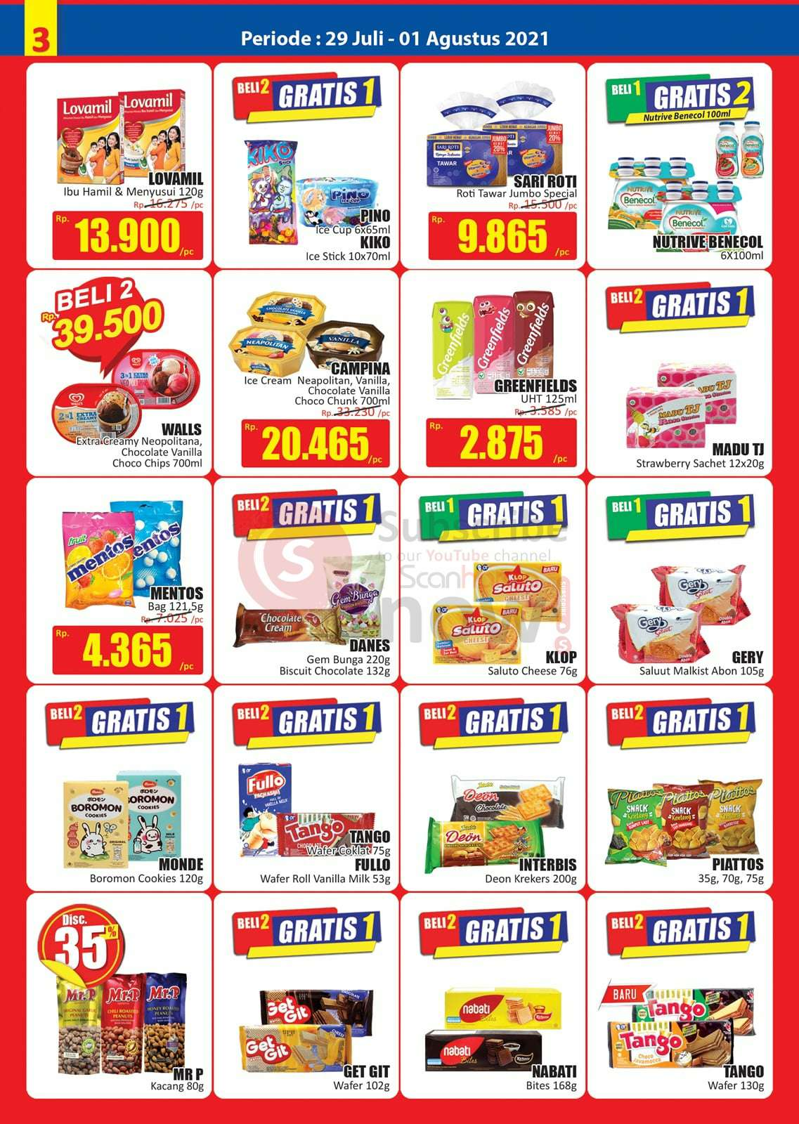 Katalog Promo JSM Hari Hari Swalayan Weekend 29 Juli - 1 Agustus 2021 3