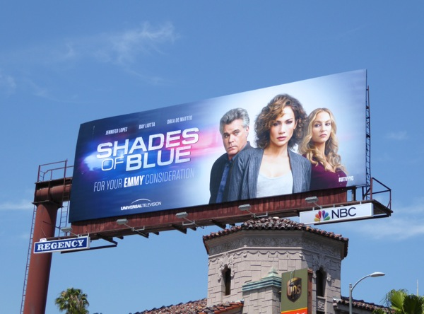 Shades of Blue season 1 Emmy 2016 billboard