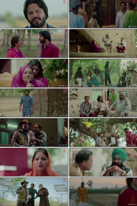 Screen Shot Of Vadda Kalakaar 2018 300MB HDRip 480P Full Punjabi Movie Watch Online Free Download