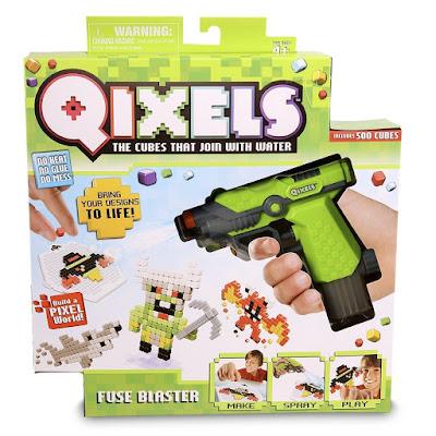 TOYS : JUGUETES - QIXELS Pack con pistola | Giochi Preziosi 2016 Producto Oficial 2016 | Edad: +4 años Comprar en Amazon España