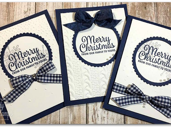 My Christmas Cards are Underway!