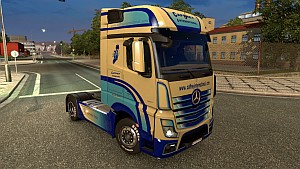 Cafrrey International Actros MP4 skin v2