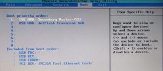 langkah keenam dalam Setting Bios Agar Bisa Install Windows Menggunakan Flashdisk
