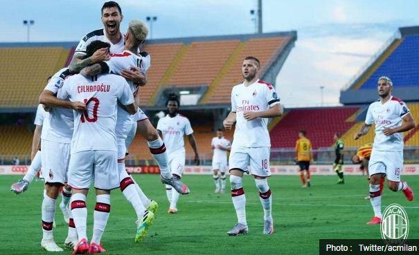 Lecce vs AC Milan 1-4 Highlights