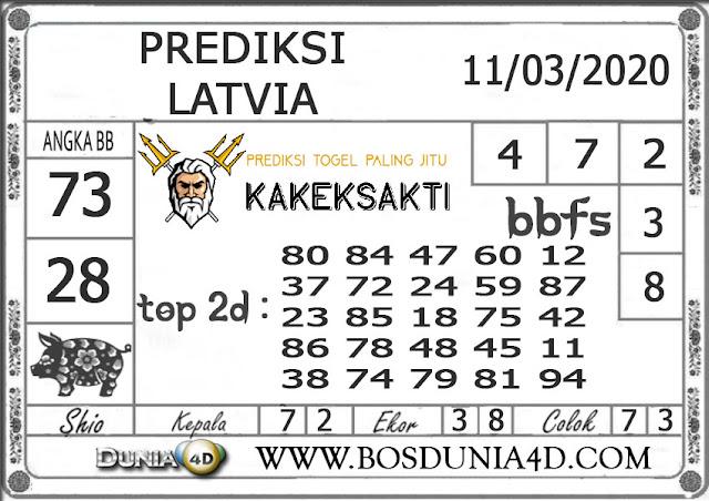 Prediksi Togel LATVIA DUNIA4D 11 MARET 2020