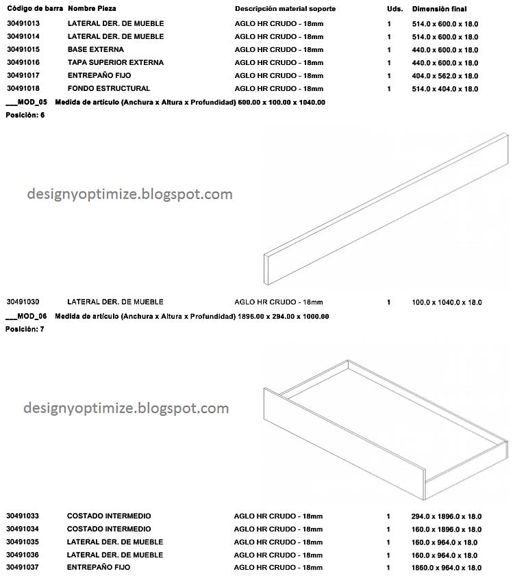 Dise o de muebles madera cuna con gavetas y repisas for Diseno de muebles de madera pdf