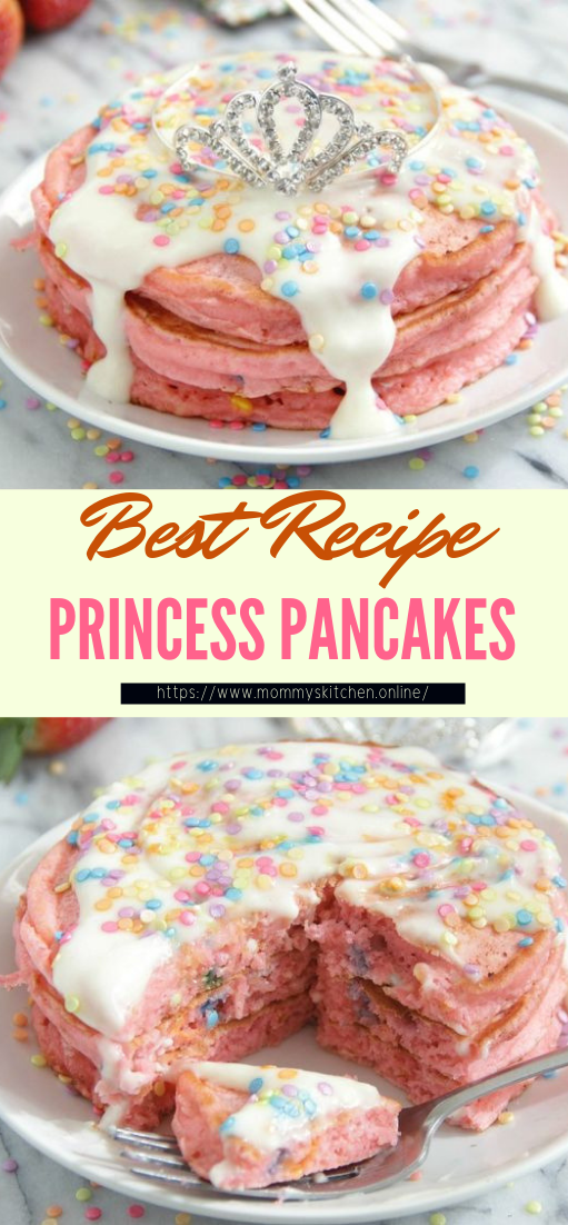 PRINCESS PANCAKES #desserts #cakerecipe #chocolate #fingerfood #easy