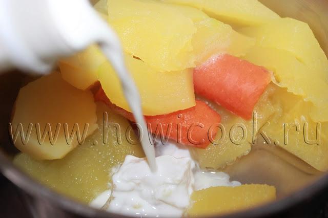 рецепт кабачкового крем-супа с пошаговыми фото