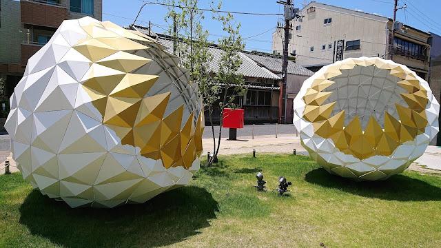 奈良公園 図書館 オブジェ