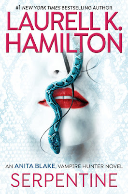 Serpentine, Laurell K Hamilton, cover, paranormal romance, Anita Blake