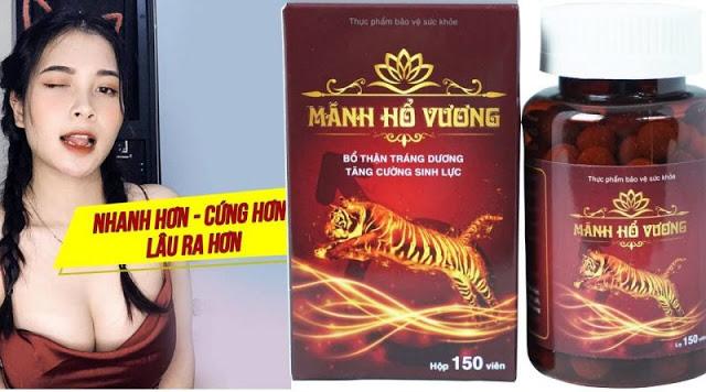 Mãnh hổ vương - Sản phẩm sinh lý dành cho nam giới