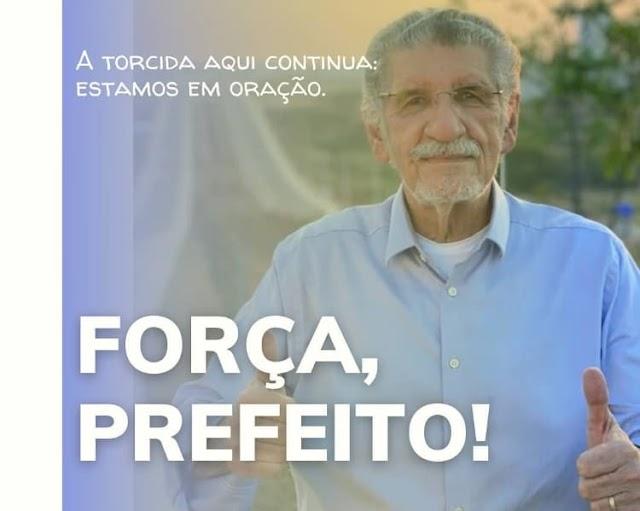 Prefeito de Vitória da Conquista Herzem Gusmão tem piora e é intubado na UTI