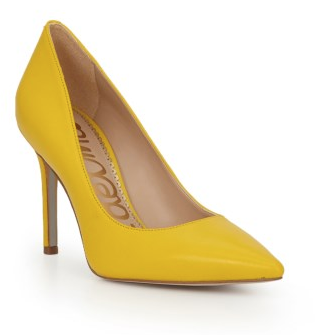 #WearItWednesday - Yellow Heels for Fall