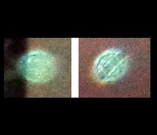 mysterious green orbs