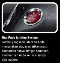 Fitur Honda HR-V - One Push Button
