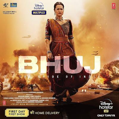 Bhuj the Pride of India  disney hotstar