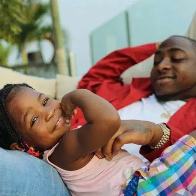 Davido Surprise His Daughter, Imade As She Launches Her Business Brand