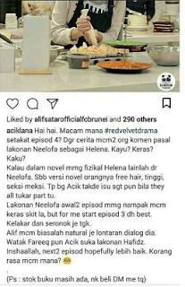 Netizen Komen Lakonan Neelofa 'Kayu' - Tingkap Berita