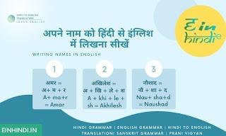 Hindi-English-Alphabet-Translation-Apne-Naam-ko-Hindi-se-English-mein-likhana-Sikhe-Writing-Names-learn-how-to-write-names