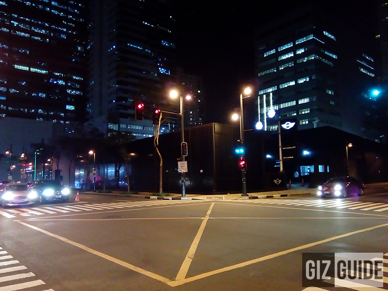 Normal mode at night