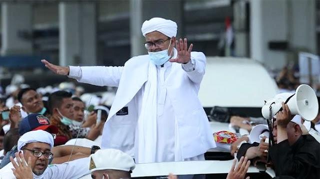 Bagi Pemerintah, Habib Rizieq Lebih 'Menakutkan' dari Covid-19