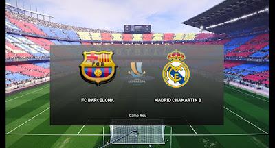PES 2020 Scoreboard Supercopa de España by Ahmedromyo