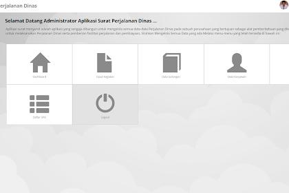Download Aplikasi Surat Perjalanan Dinas Web Gratis Siap Untuk di Gunakan