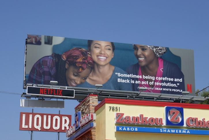 Dear White People Netflix Black Lives Matter billboard
