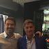 La televisión pública de Grecia realiza un reportaje a José Manuel Roca con Míchel