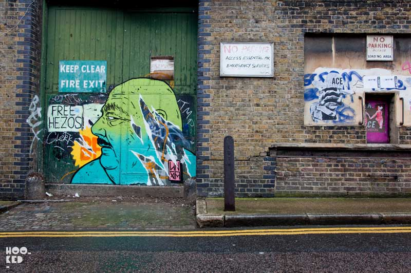 Hackney Street Art - Broken Fingaz Collective