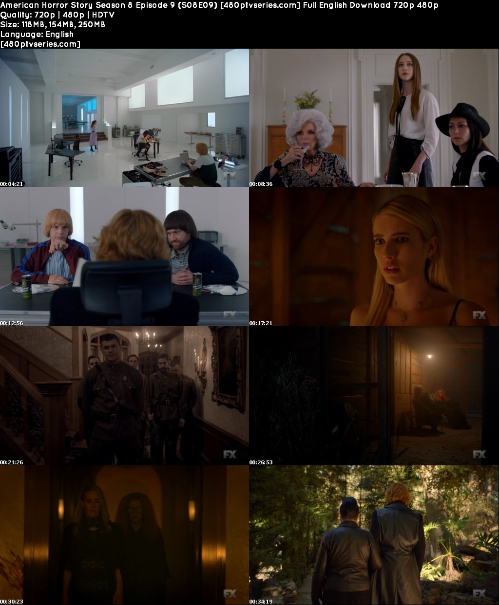 American Horror Story Season 8 Episode 9 (S08E09) Full English Download 720p 480p