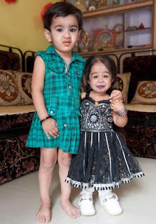 सबसे छोटी जीवित महिला। Jyoti Aamge