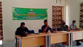 Cegah Covid19, Pemerintah Desa Suak Putat Sosialisasikan PPKM kepada masyarakat