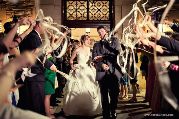Do it yourself weddings ribbon wands at your wedding ribbon wands at your wedding solutioingenieria Gallery