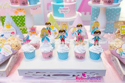 vo banh va tem trang tri cupcake