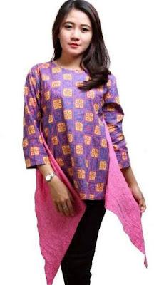 Model Baju Batik Atasan Untuk Anak Muda
