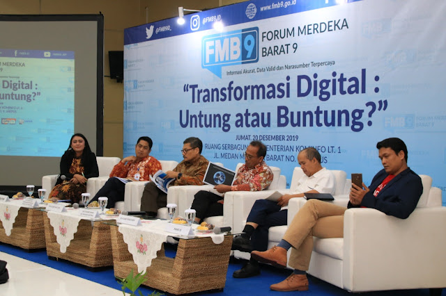Digitalisasi hadir di tengah-tengah kita dan memberi manfaat nyata