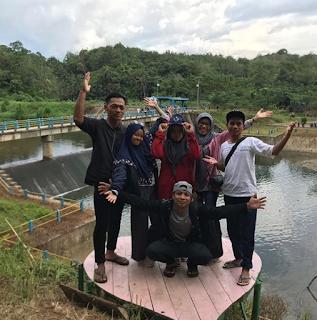 Objek Wisata Riam Kinarum, Upau, Tabalong, Kalsel