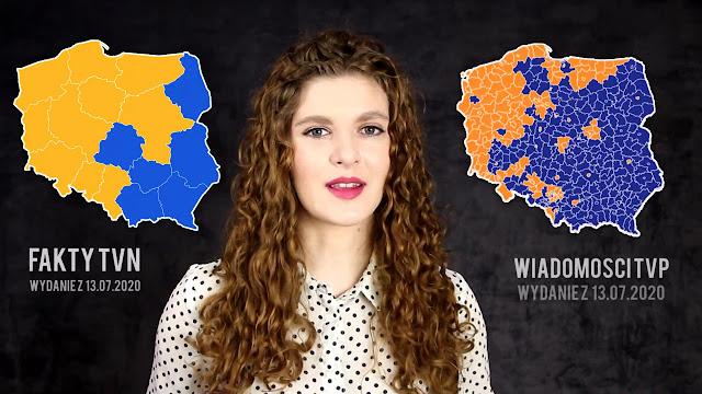 Wybory Prezydenckie 2020 - Wiadomości TVP kontra Fakty TVN - porównanie, media, zestawienie, manipulacja