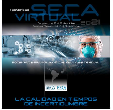 """Congreso SECA21: """"La calidad en tiempos de incertidumbre"""""""