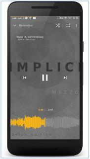 Müxtəlif temaları mövcud olan Music Player Mezzo ilə musiqi dinləmək heç bu qədər əyləncəli bir hal almamışdı.