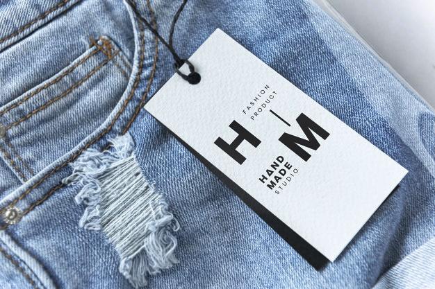 Template Hang Tag Celana Jeans Keren