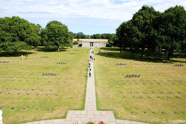Vista panoramica del cimitero Allemande