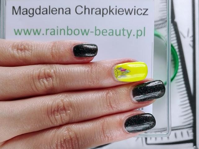manicure-hybrydowy-kads-genailish-neon-dream-catcher-nails-blog-inspiracje