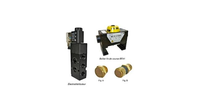 Bamo Accessories for Pneumatic Actuators SV61 - BE41