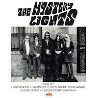 Conciertos en España de The Mistery Lights en Octubre del 2021