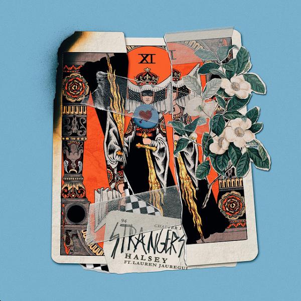 Halsey - Strangers (feat. Lauren Jauregui) - Single Cover
