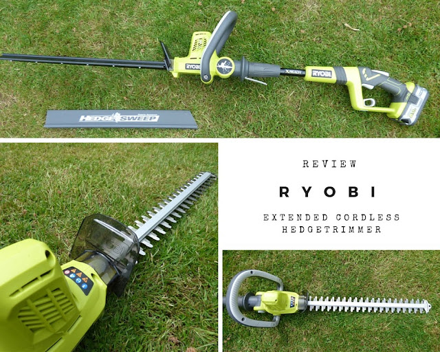 Review Ryobi Cordless Extended Reach Hedge Trimmer