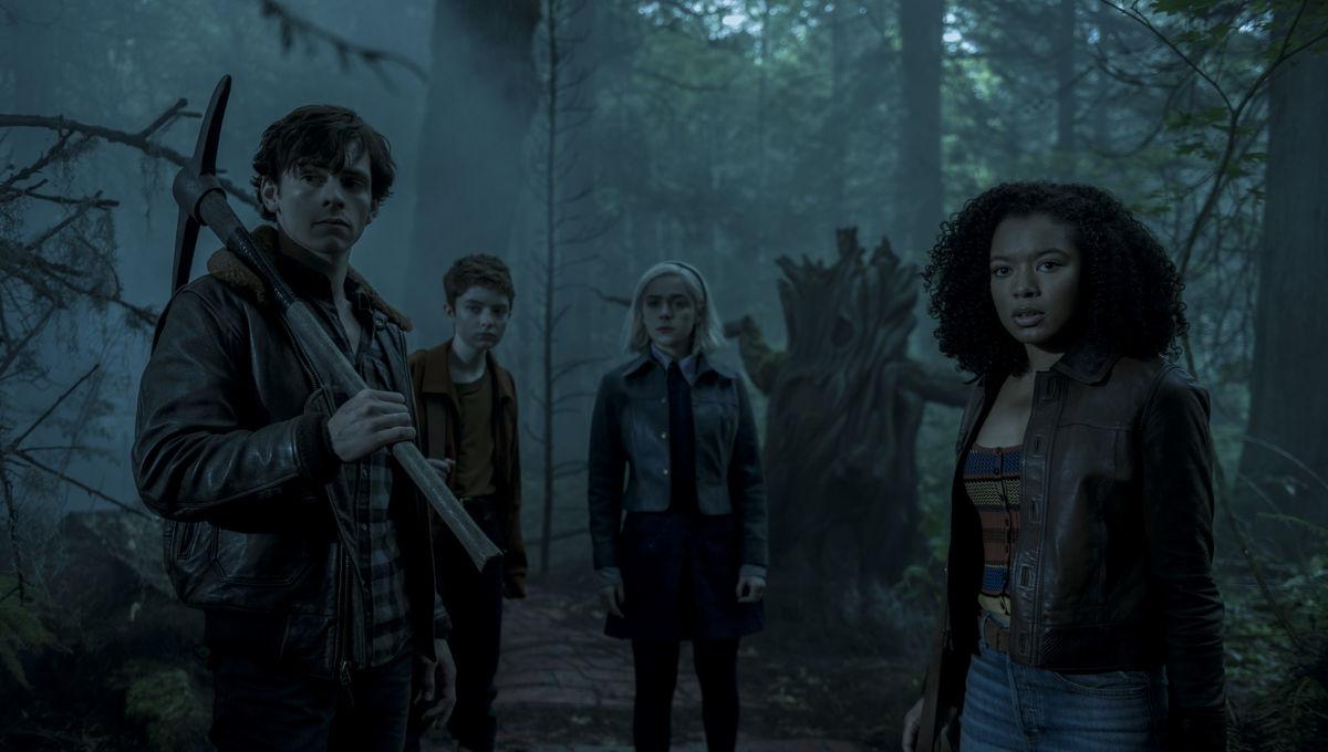 Sabrina, Harvey, Roz y Theo, Chilling Adventures of Sabrina parte 3